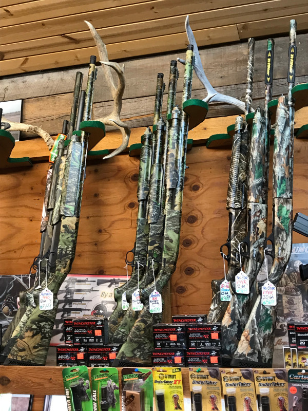camouflage rifles